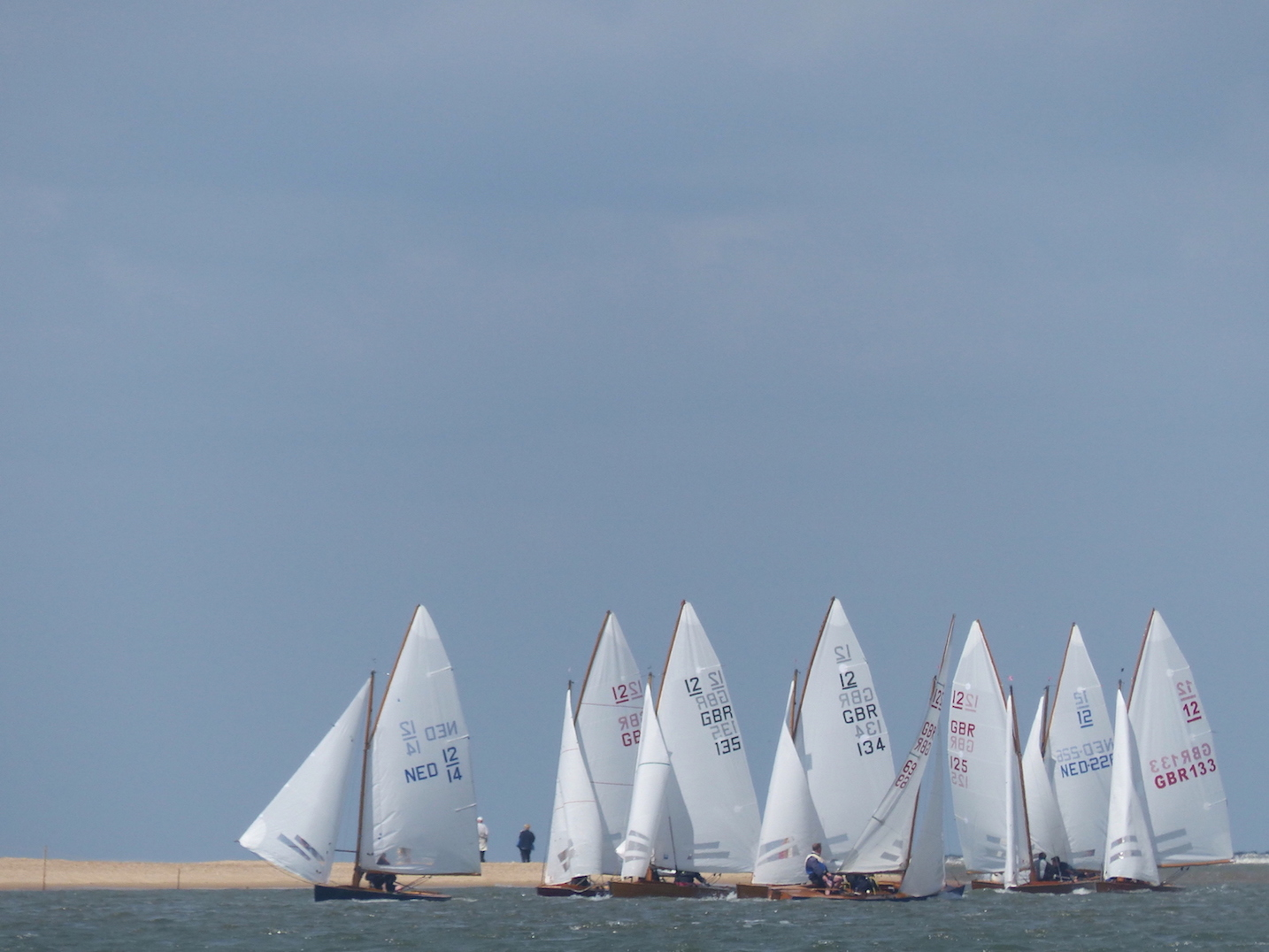 WSC lots of sails